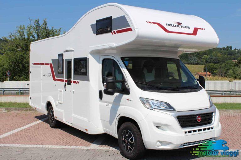 Mansardato 5 Posti Maxi Garage 300 KG. Roller-Team Kronos 290 M