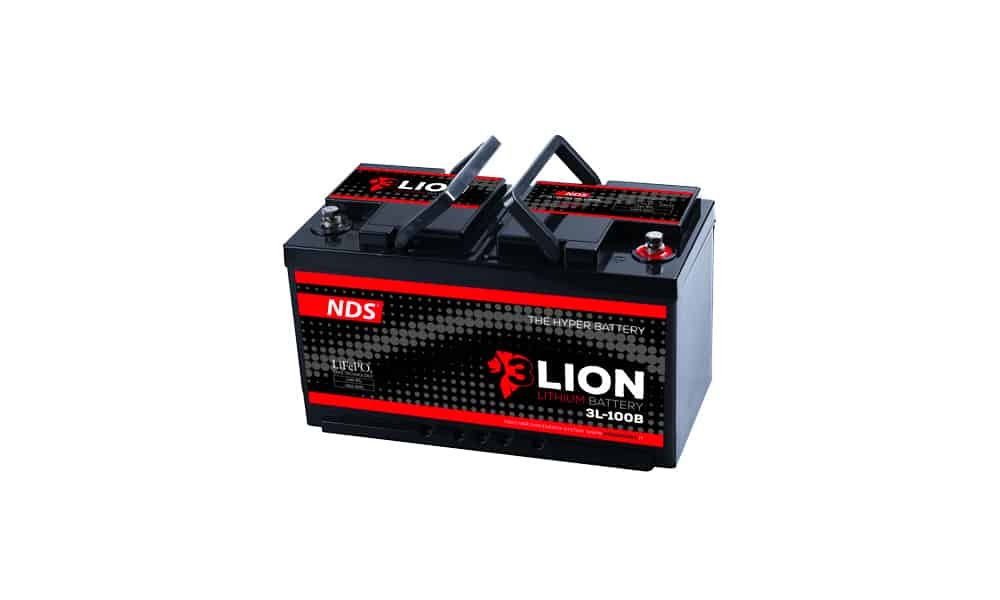 Nuova batteria per camper Lion System NDS