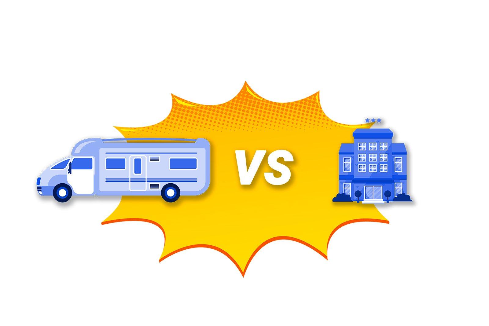 Noleggiare un camper vs andare in hotel: chi vince?